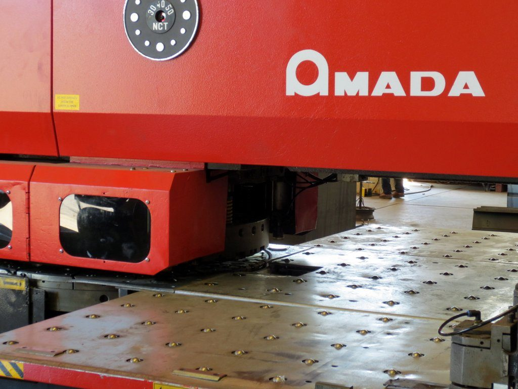 Amada 345 Turret Punch