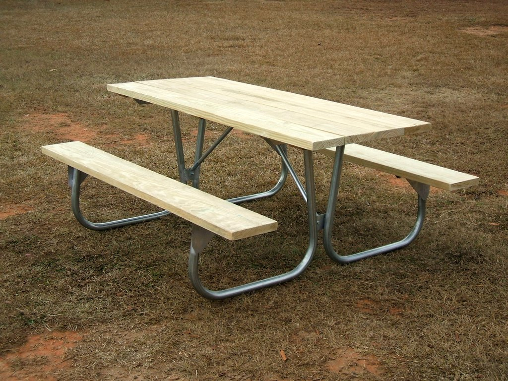 Premium Picnic Tables Cold Spring Enterprises Inc - Treated lumber picnic table