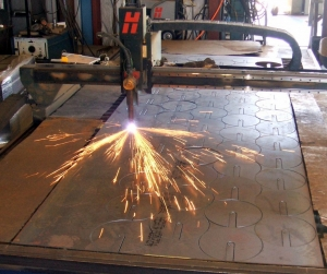 "60"" x 144"" 100-amp CNC Plasma table"