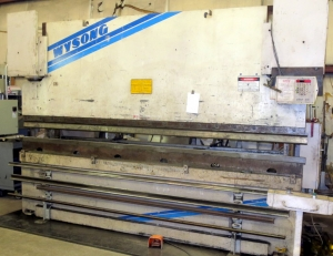 175-Ton x 12ft Wysong with CNC Backguage