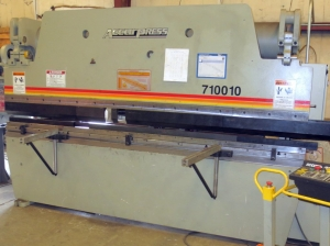 100-Ton x 10 ft Accurpress with CNC Backguage