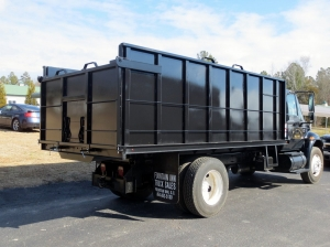 Custom Removable Dump Truck Sides