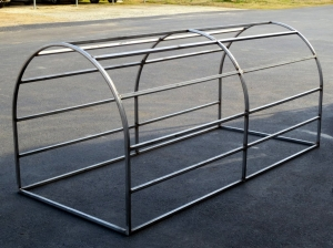 Rolled Stainless Tubing Chimney Cover Frame