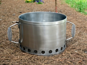 Custom Stainless Charcoal Starter